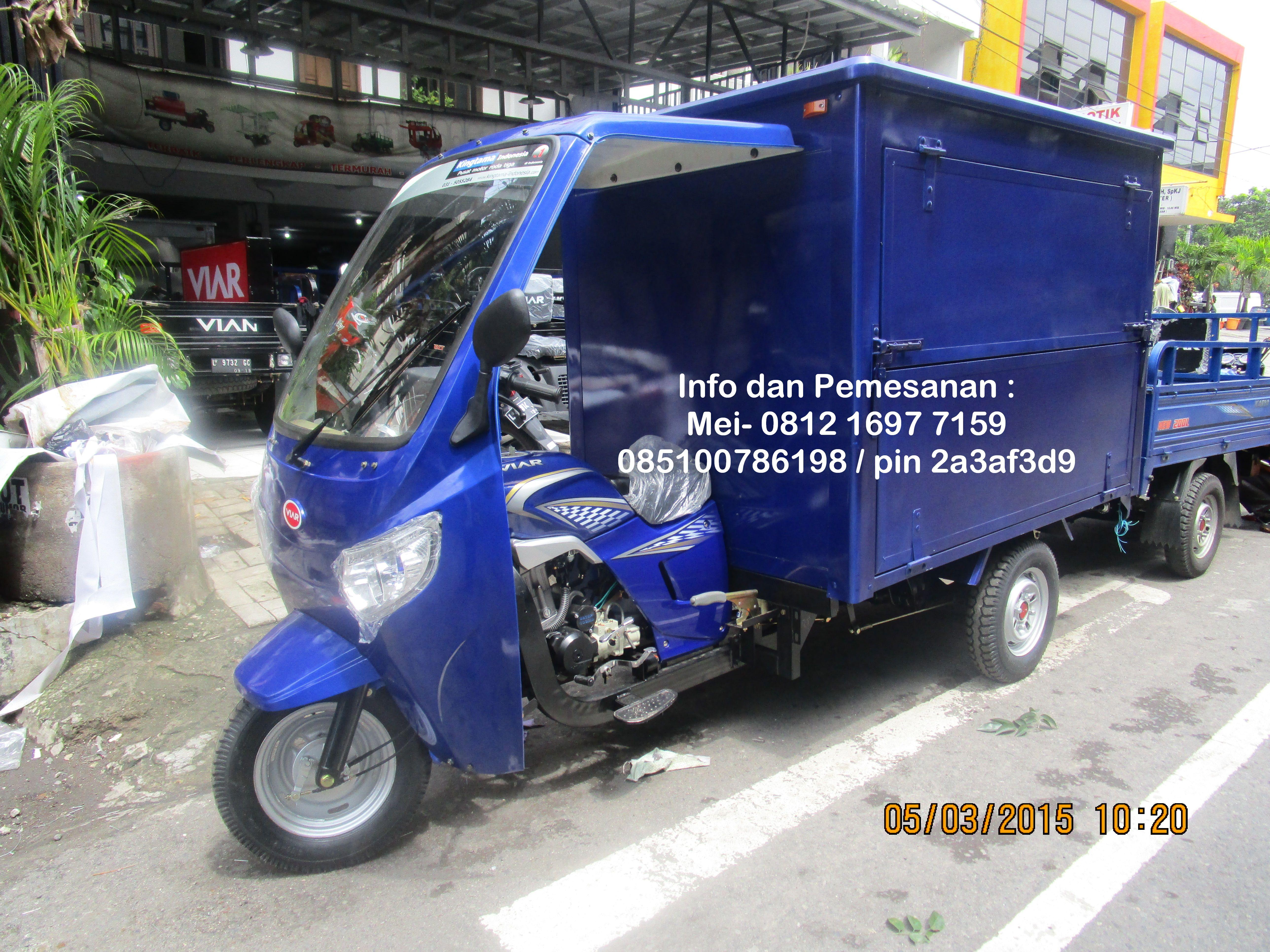 Koleksi Ide Modifikasi Motor Untuk Angkutan Barang Terupdate